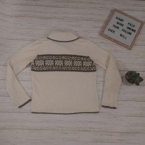 Nine & Company Long Sleeve Turtleneck Sweater